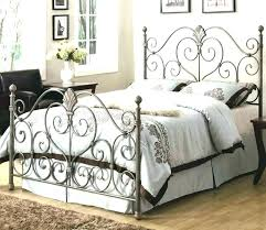 Antique Iron Bed Frame Queen Antique Iron Bed King Wrought Iron Bed ...