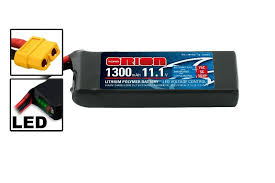 <b>Аккумулятор Team Orion Batteries</b> 11.1V 1300mAh 75C LiPo XT60 ...