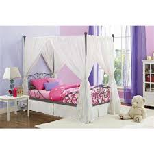 Canopy Kids Single Bed Frame Low Twin Bed For 3208 | bayram.info