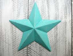 metal star wall decor: bright teal cast iron star wall decor blue indoor outdoor accessory nautical sailor metal art texas star bedroom living room bathroom