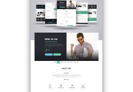 Resume Website Template 100 fresh resources for designers January 100 Webdesigner Depot 79