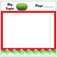 Small Moment Watermelon Anchor Chart Small Moments Mentor Text Sticky Notes Step Up For