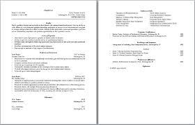 Quick Resume New Quick Resume Template Musiccityspiritsandcocktail