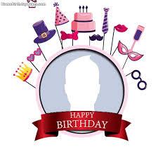 free happy birthday frames editing