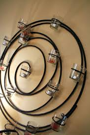 circle wall candle holder round com mg small candles sconces