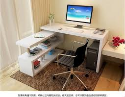 table cheap rotating desktop computer desk corner minimalist home office bookcasechina mainland cheap office tables