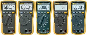 Fluke Tester Comparison Chart Fluke 110 Series Comparison Test Meter Pro