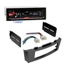 how to install a jvc car radio jvc car radio stereo single din dash kit wire harness for 2000 06 nissan sentra