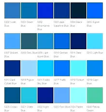 Car Paint Colors Chart Blue Paint Samples Brickandwillow Co