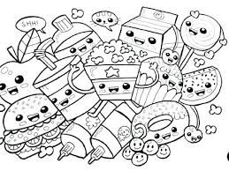 Food Coloring Page Get This Food Coloring Pages Cute Food Coloring