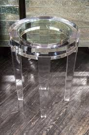 furniture round acrylic coffee table excellent best selection lucite tables small tablecloth coated 30mm beads