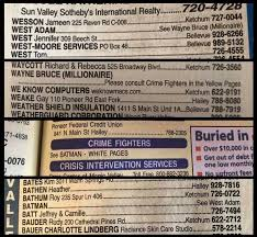 Telephone Listing Adam Wests Local Telephone Directory Listing In California Is An