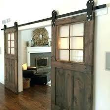 interior barn door with glass sliding barn doors ideas for a rustic feel sliding barn doors