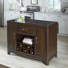 Granite Top Kitchen Island Home Styles Crescent Hill Kitchen Island With Granite Top