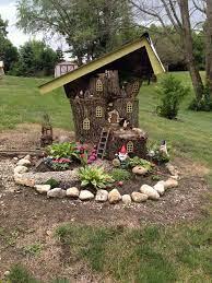 diy fairy tree houses fairy garden houses