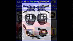 2016~2017 kia sportage led fog light lamp complete kit wiring 2016~2017 kia sportage led fog light lamp complete kit wiring harness mf switch