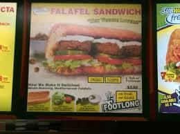 falafel s subway