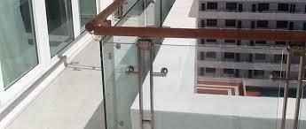 railing glass miami railings systems miami