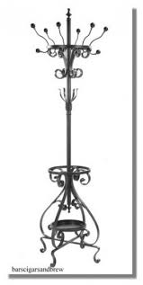 Coat Rack And Umbrella Stand Antique White