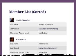 Membership List Template Member List Template Under Fontanacountryinn Com