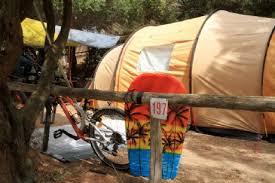 Tenda Campeggio Con Bagno : Piazzola con tenda al camping portu tramatzu