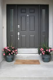 front door hardware brushed nickel. Door Black Or Brushed Nickel Handleset Knocker; A Front Porch Facelift Withheart Hardware