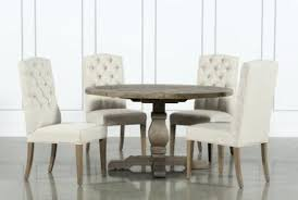 rounded dining chairs 5 piece round dining set with upholstered side chairs rounded dining room chair