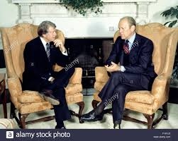 jimmy carter oval office. United States President Gerald R. Ford, Right, Meets U.S. Elect Jimmy Carter, Left, In The Oval Office Of White House Washington, Carter E