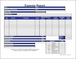 Excel Travel Expense Report Template Travel Expense Form Template Excel