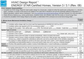 Certified Hvac Designer Energy Star Hvac Design Report 2 Whole House Mechanical