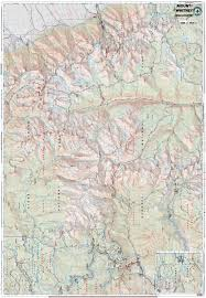 mt whitney high country – tom harrison maps