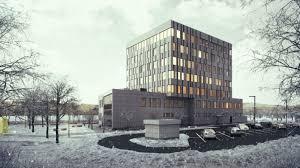 exterior office design. Exterior Office Design. Photoreal Architectural Rendering: Design View02 E