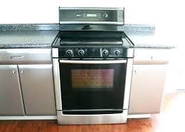dual fuel range reviews. Bosch Range Reviews Electric Smooth Top Free Standing Stainless And Black Series . Dual Fuel