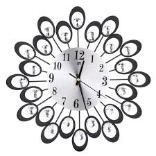 Small Picture Online Buy Wholesale flower design wall clock from China flower