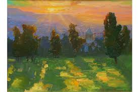 peter seitz adams sunrise and long shadows view canvas