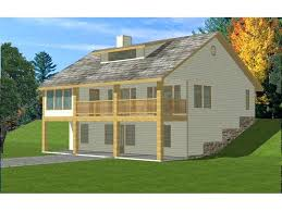sloped lot house plans two story country house ideal for sloping lot sloped lot house plans