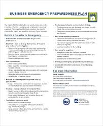 sample safety plan 29 emergency plan examples word google docs apple pages examples