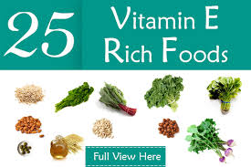 Vitamin E Food Sources Chart Top 24 Vitamin E Rich Foods You Should Include In Your Diet