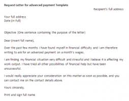 payment request letter to client request letter for advanced payment request letter samples