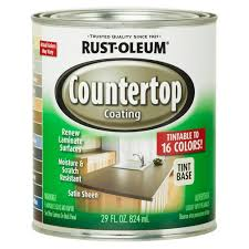 Can I Paint Countertops Rust Oleum Specialty 1 Qt Countertop Tintbase Kit 246068 The