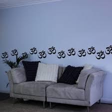 om symbol wall art pack on om symbol wall art with om symbol vinyl wall art decal packoptical illusion bubbles vinyl