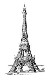 Paris Tour Effel Realiste Paris Coloriages Difficiles Pour
