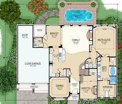 Featured House Plan  PBH     Professional Builder House PlansFirst Floor image of Featured House Plan  PBH