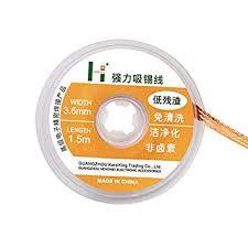 ChaRLes <b>1.5M Length Solder Wick</b> Remover Desoldering Braid ...