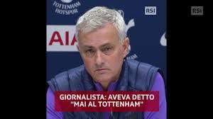 Premier League, la conferenza stampa di José Mourinho (21.11.2019) - RSI  Radiotelevisione svizzera
