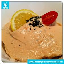 fitness snack low carb salmon mousse