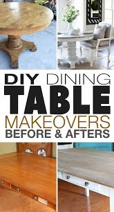 If you must ask why a dining table with bench seating is an option worth considering, here are a few advantages it offers. Diy Dining Table Makeovers Before Afters The Budget Decorator