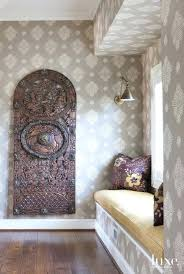 wallpaper ideas for hallway best halls stairs images on contemporary gray  niche wallpapers . wallpaper ideas for hallway ...