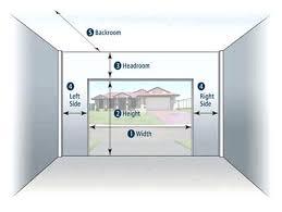 single car garage doors. Exellent Garage Single Car Garage Door Size Doors For Decor One Dimensions Design Ideas And To W