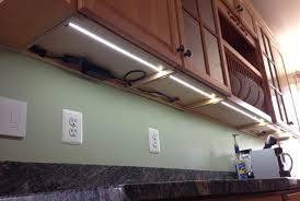 led tape light kit kitchen
